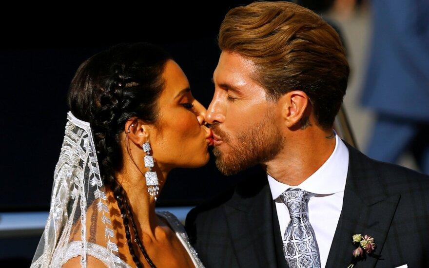 Sergio Ramoso vestuvės