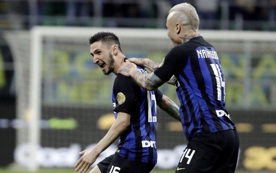 "Matteo Politano, Milano ""Inter"" saugas"