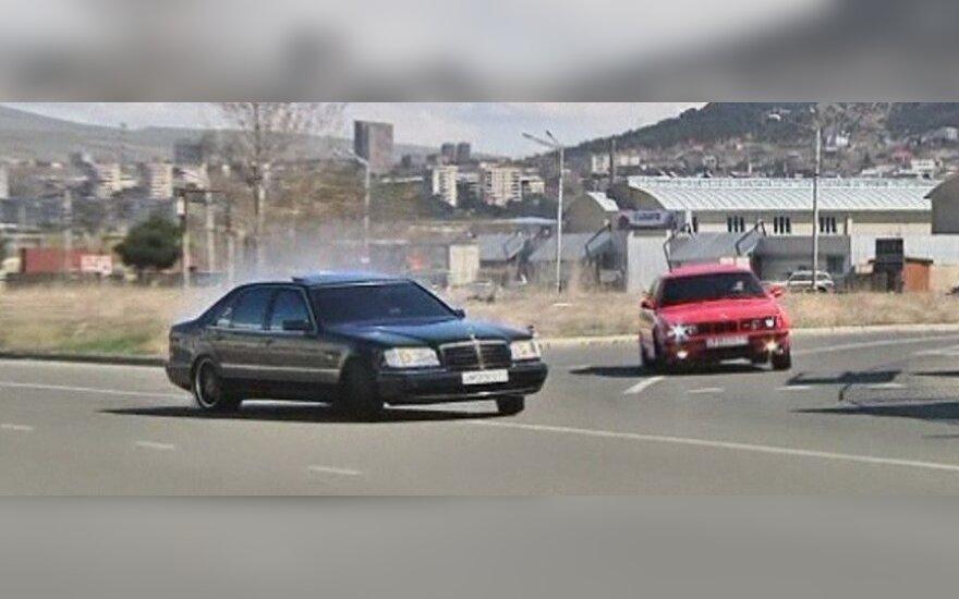 Vairuotojai ekstremalai iš Gruzijos pasiryžę užkariauti Holivudą