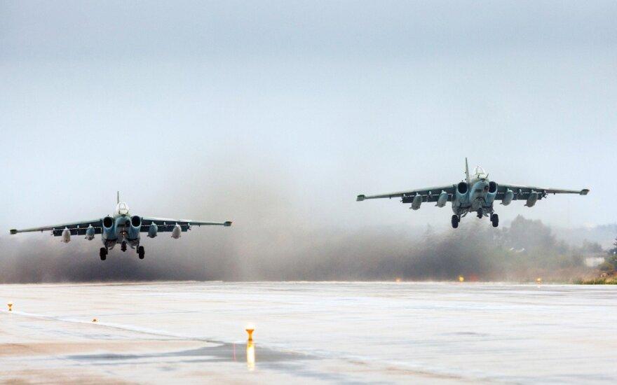 Kaliningrado srityje dislokuojamas oro pajėgas sustiprinta naikintuvų pulku