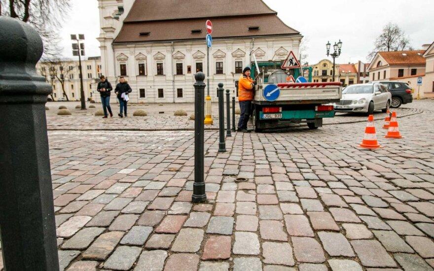 Svarbi informacija kauniečiams: Rotušės aikštėje pakeista eismo tvarka