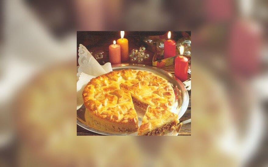 Riešutų pyragas