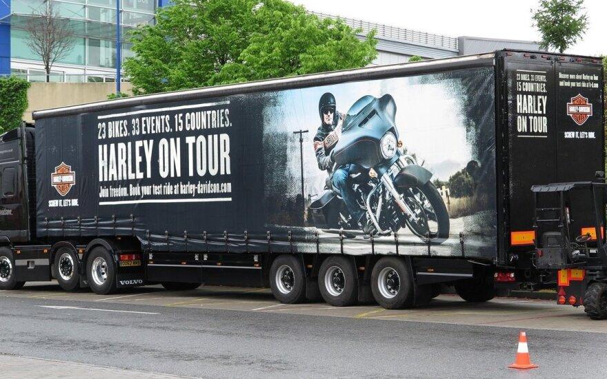 """""""Harley-Davidson"""" pradėjo turą po Europą"""