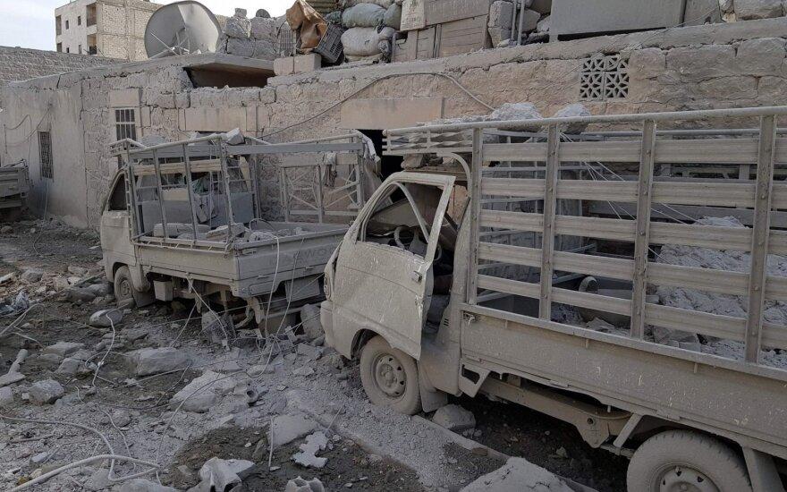 Sirijos pietuose per antskrydžius žuvo 12 civilių
