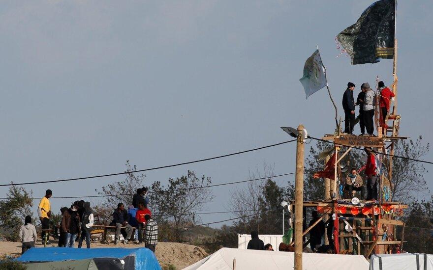 Migrantų stovykloje išžaginta prancūzų žurnalisto vertėja