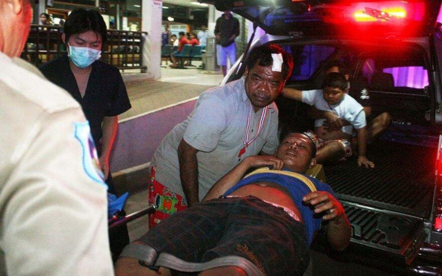 Tailande prieš demonstrantus surengta ataka