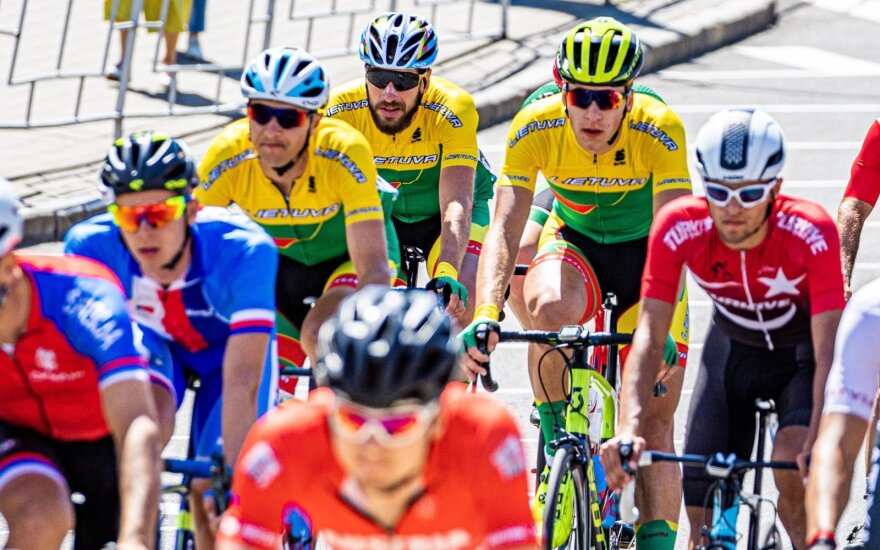 Lietuvos dviratininka Europos žaidynėse