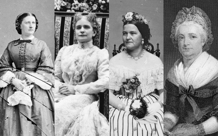 Pirmosios JAV ponios