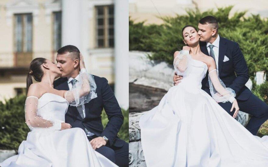 Vestuvių akimirka/ Jolantos Rutkauskienės nuotr.