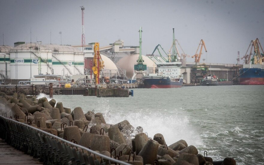 Klaipėdos uostas pagal krovą – lyderis Baltijos valstybėse