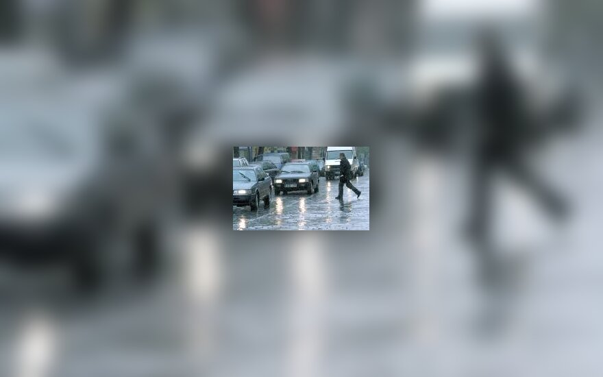 Automobiliai gatvėje