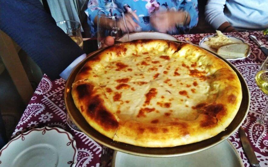 Pietūs Tbilisio restorane