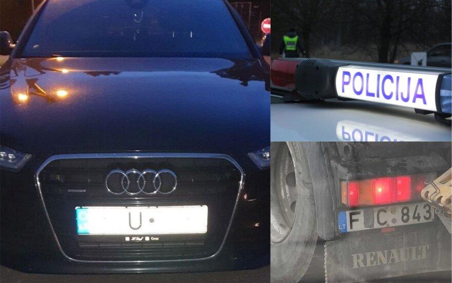 """Į policijos akiratį pateko """"trikojus"""" apgauti mėginę vairuotojai: už gudravimą – solidžios baudos"""