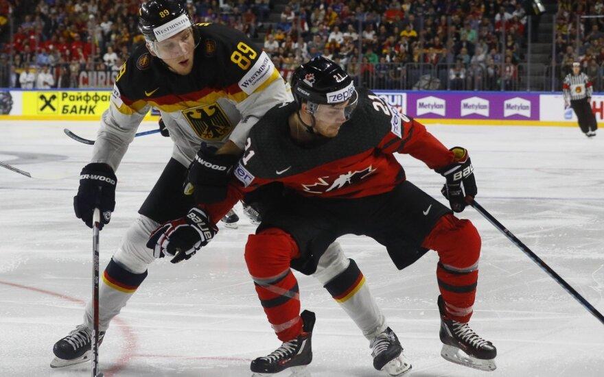 Ledo ritulys: Vokietija – Kanada
