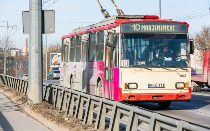 Visame Vilniaus viešajame transporte ketina įdiegti alkoblokus