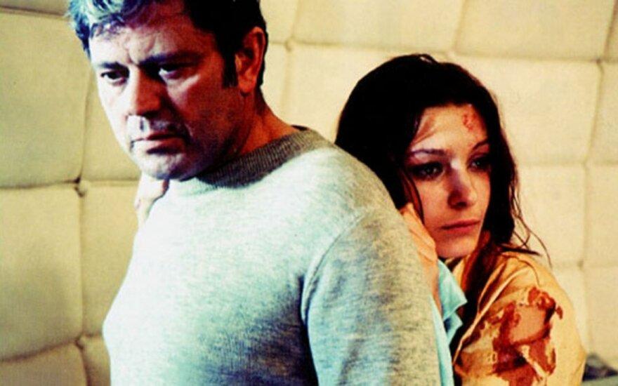 Donatas Banionis and Natalya Bondarchuk in Tarkovsky's Solaris