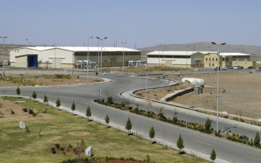 Irano urano sodrinimo gamykla Natanze