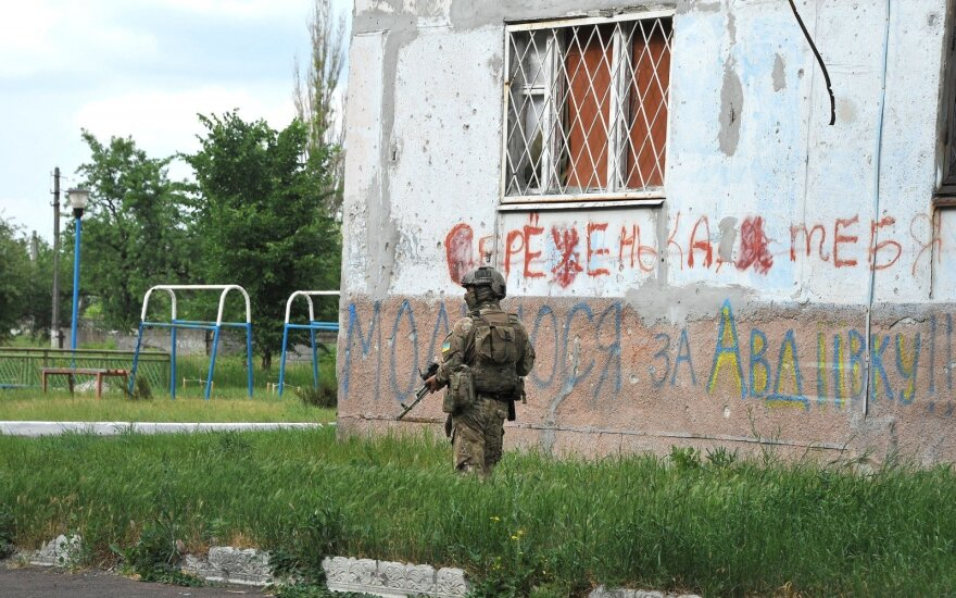 In the Eastern Ukraine