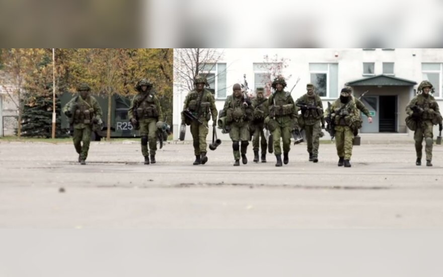 Lithuanian army aims to enrol 1,000 privates annually