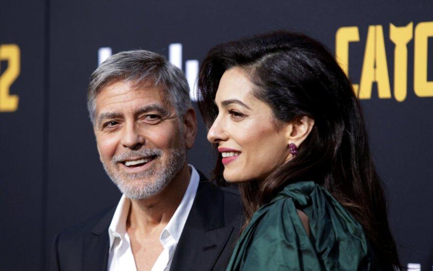 George ir Amal Clooney