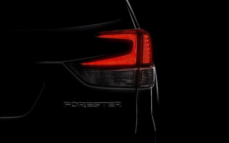 """Užuomina į naujos kartos """"Subaru Forester"""""""