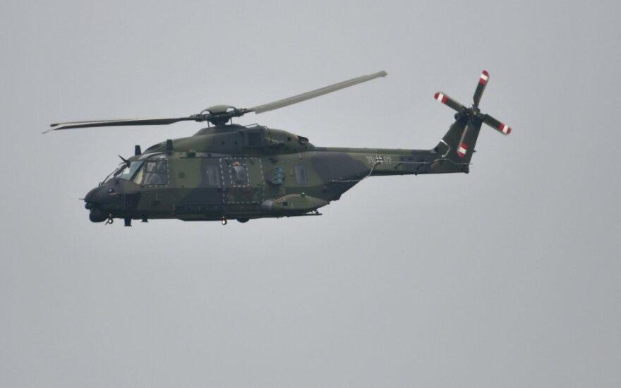 Bundesvero sraigtasparnis NH 90
