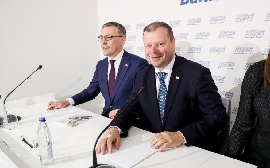 Vytautas Bakas, Saulius Skvernelis