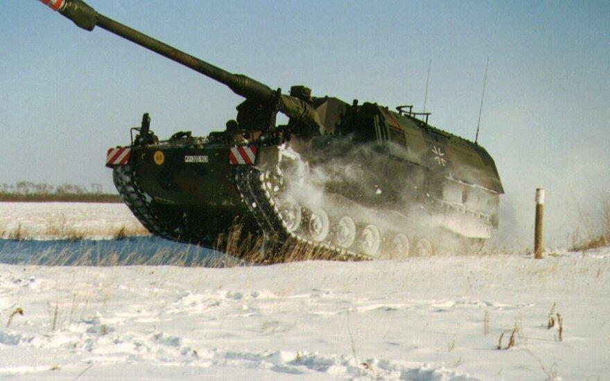 PZH 2000 howitzer
