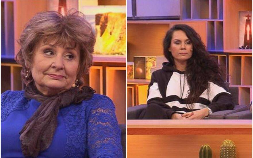 Šokėja Kristina Navickaitė–Tina ir jos mama