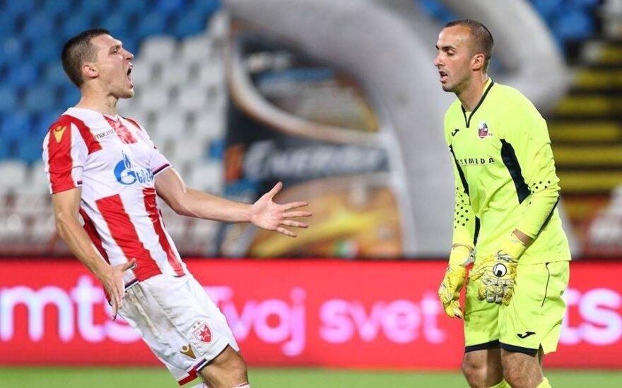 "UEFA Čempionų lyga: ""Crvena Zvezda"""