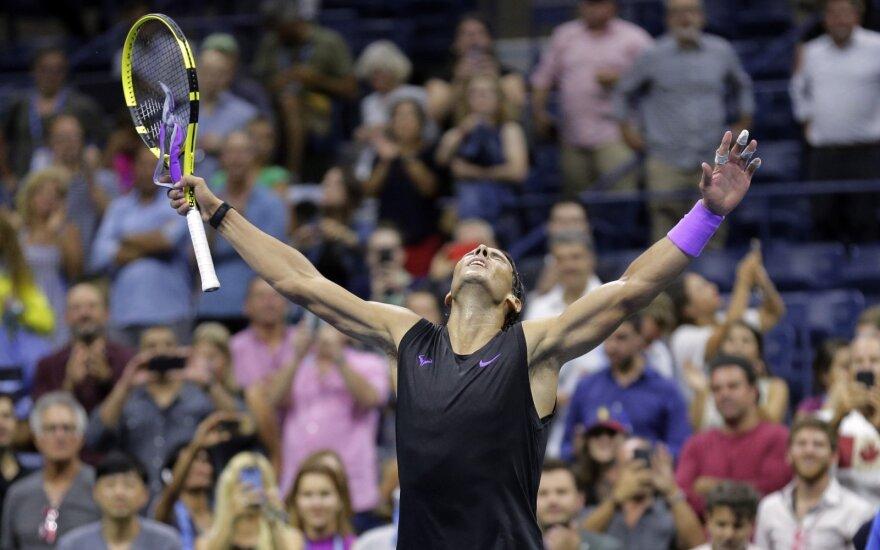 """US Open"" pusfinalyje – Nadalis ir Berrettini"