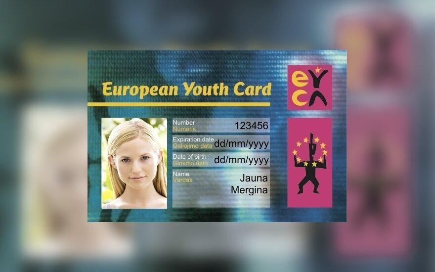 Europos jaunimo kortelė