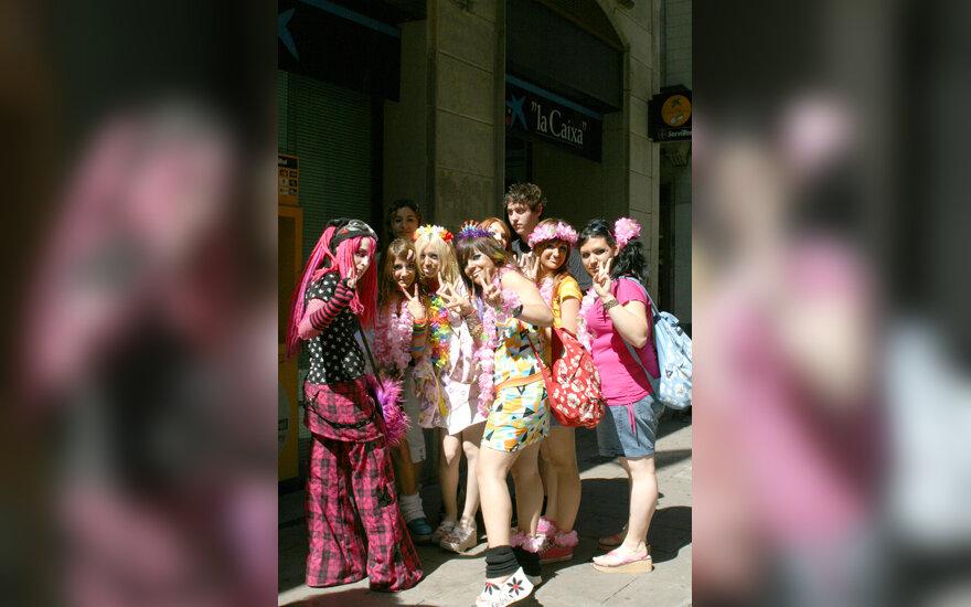 Barselonos gatvės mada