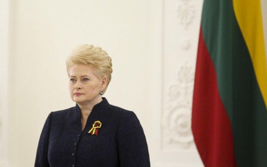 Prezdientė Dalia Grybauskaitė