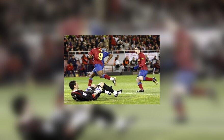 """Ispanijoje - """"Real"""" nesėkmė bei """"Barcelona"""" pergalė"""