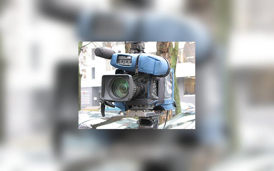 Televizijos kamera, media, žiniasklaida