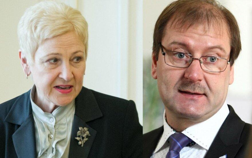 Irena Degutienė, Viktoras Uspaskichas