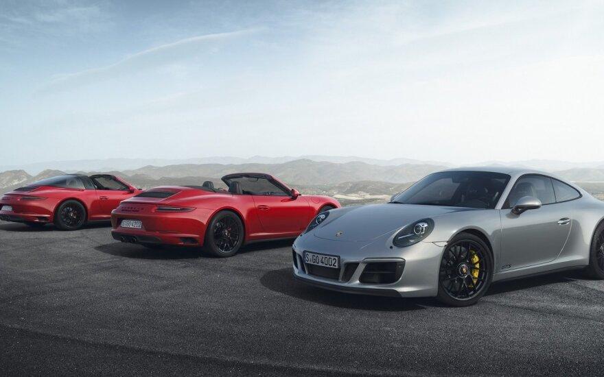 """Porsche 911 GTS"" šeima"