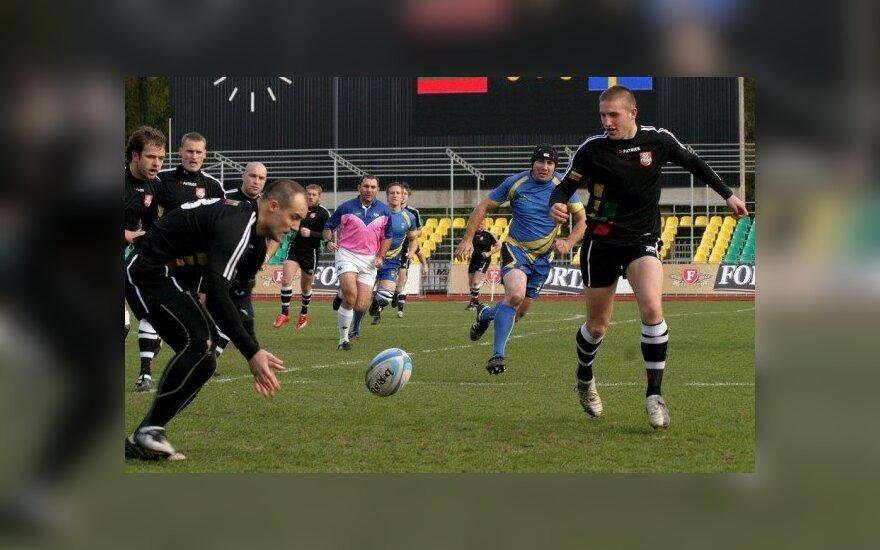 Regbio rungtynės Lietuva - Švedija