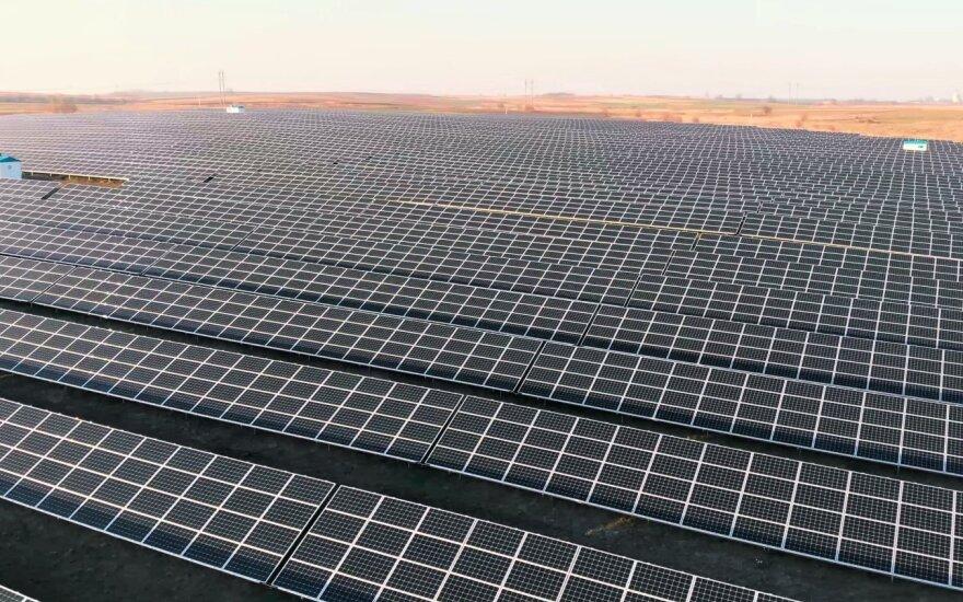 """""""Modus Group"""" Ukrainoje įgyvendino pirmąjįsaulės energetikos projektą"""