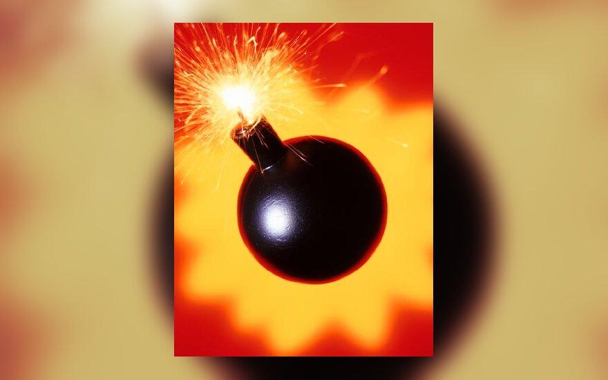 Bomba, sprogimas