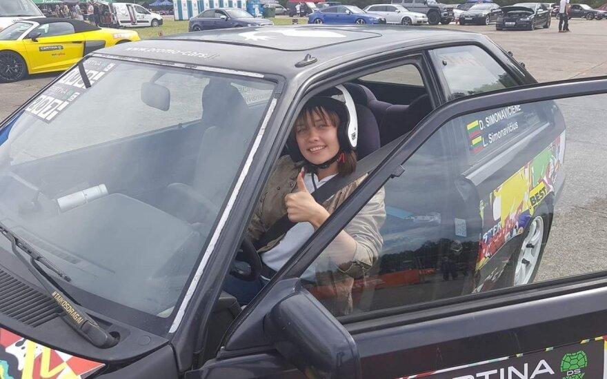 D. Simonavičienė: automobilių sportas traukia lyg magnetas