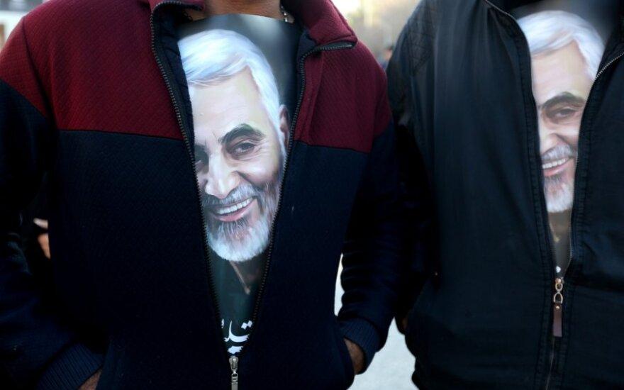 Irano lyderio atstovas: kerštas už Suleimani nužudymą dar nebaigtas