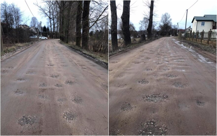 Gineitiškių gatvės kelias