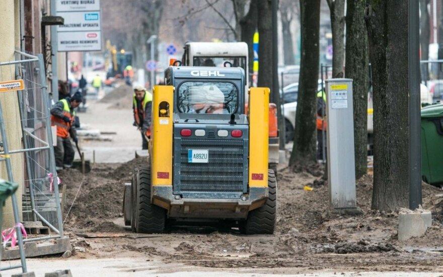 Gatvių remontas Kaune išėjo ne vien į gerą