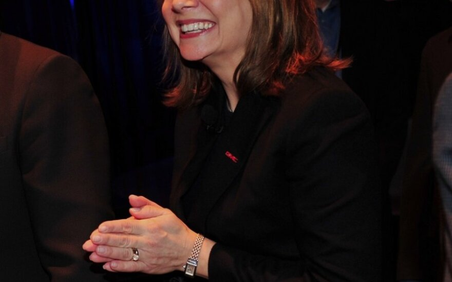 General Motors vadovė Mary Barra