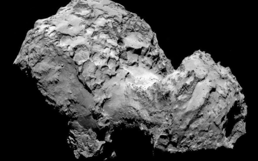 Rugpjūčio 3 d. užfiksuotas Čuriumovo-Gerasimenkos kometos vaizdas iš 285 km nuotolio