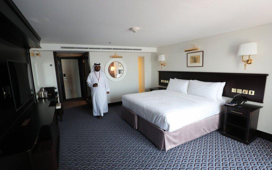 Dubajuje duris atvėrė Elizabeth II vardu pavadintas laivas-viešbutis