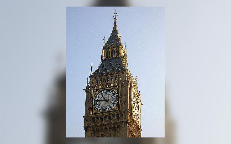Big Ben laikrodis Londone