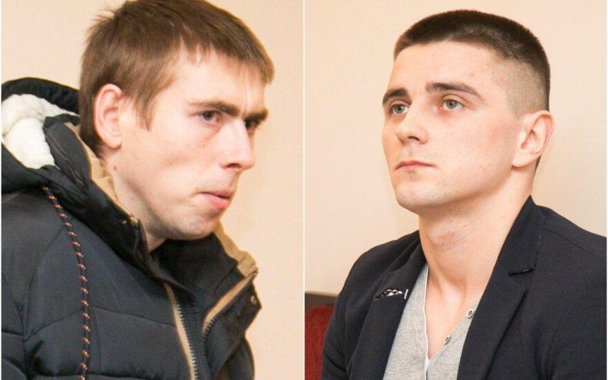 Edgaras Kripakas (kairėje) ir Arturas Lažnevičius